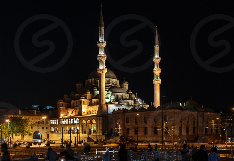 Yeni Camii (New Mosque) - Architecture in Old Istanbul photo