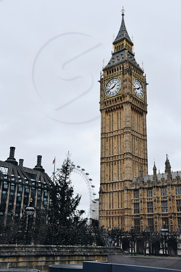Westminster England clock UK photo