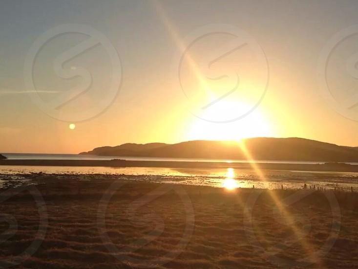 Scottish sunrise photo