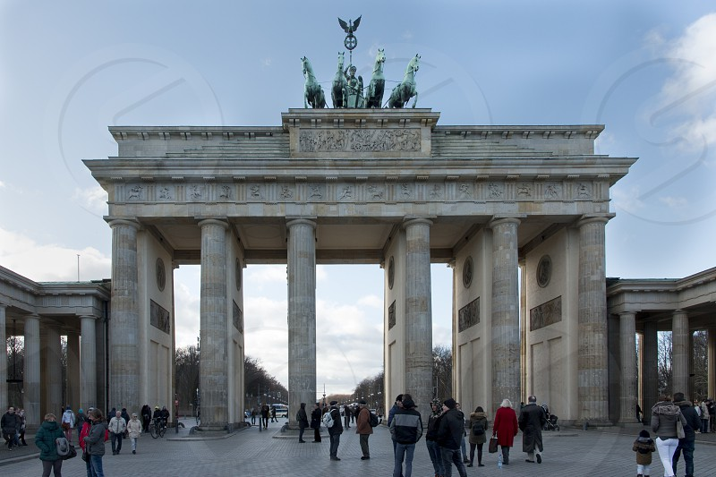 Brandenburg Gate - Berlin seen from Pariser Platz photo