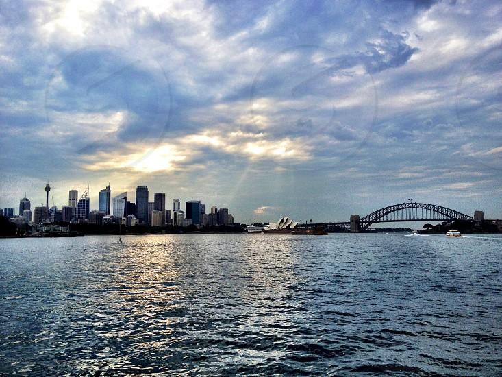 Sydney harbour  photo