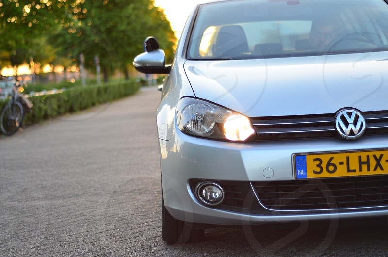 Golf 6 on a beatifull day in holland photo