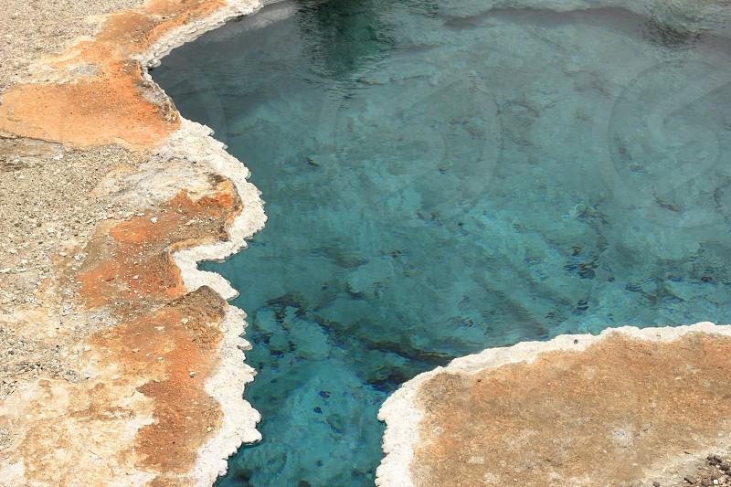 Bright Blue Geyser photo