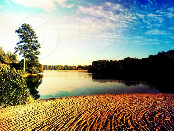 Beautiful Lake In Glen Allen Virginia photo