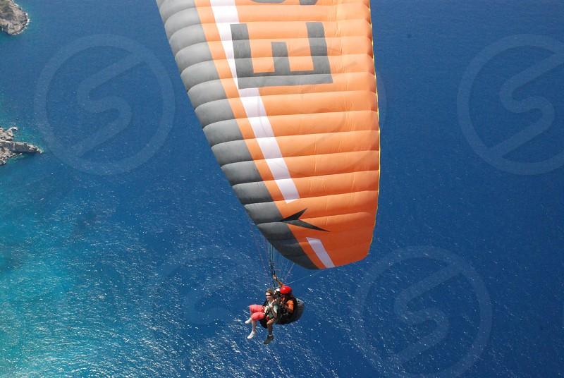 Paragliding in Turkey photo