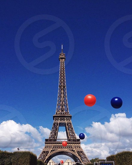 Balloons in Paris photo