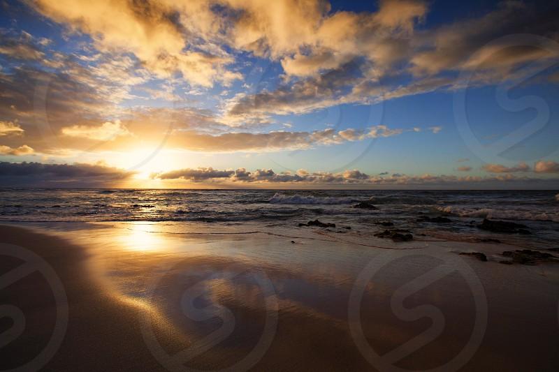Sunrise sandys Hawaii O'ahu photo