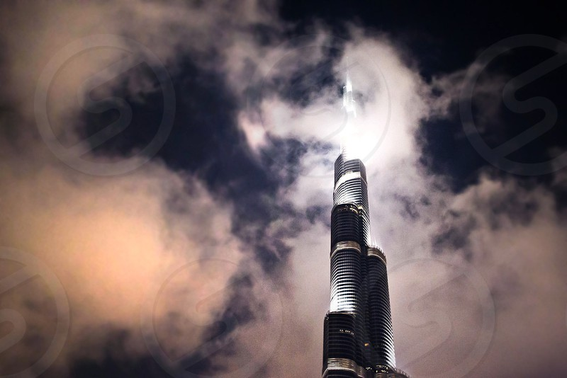 Dubai burj tallest building in the world big tall architecture  photo