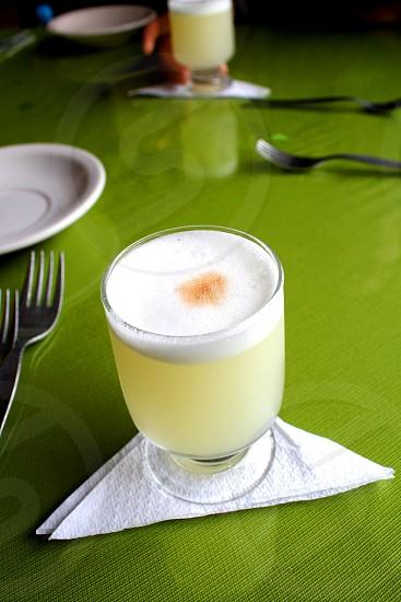 Pisco Sour in Lima Peru photo