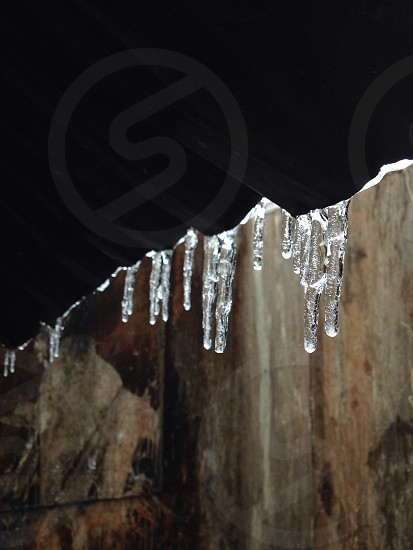ice crystal dropped photo
