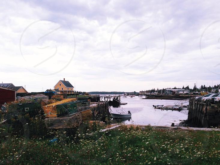 Carver's Harbor Vinalhaven Maine photo