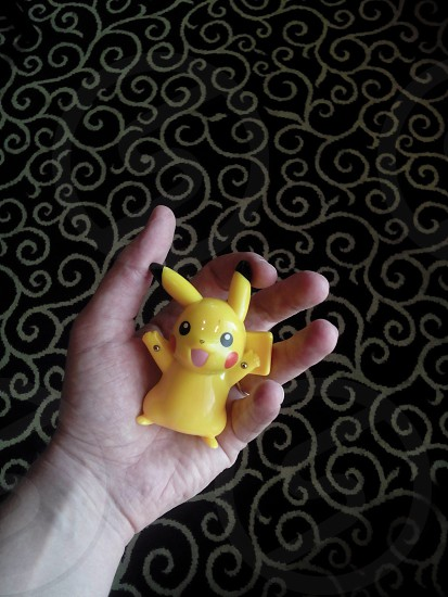Catching Pikachu without pokemon go photo