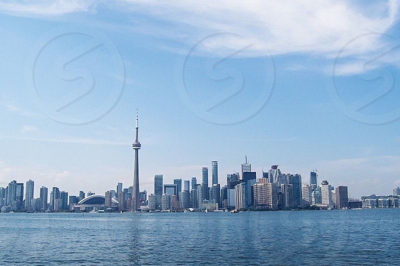 Skyline of downtown Toronto Canada. photo