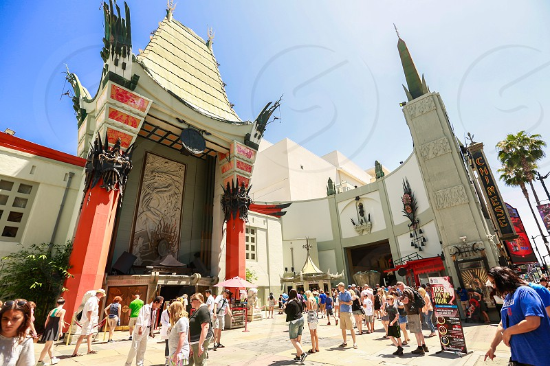 Tcl Chinese theater hollywood los angeles movie premiere hall of fame celebrities photo