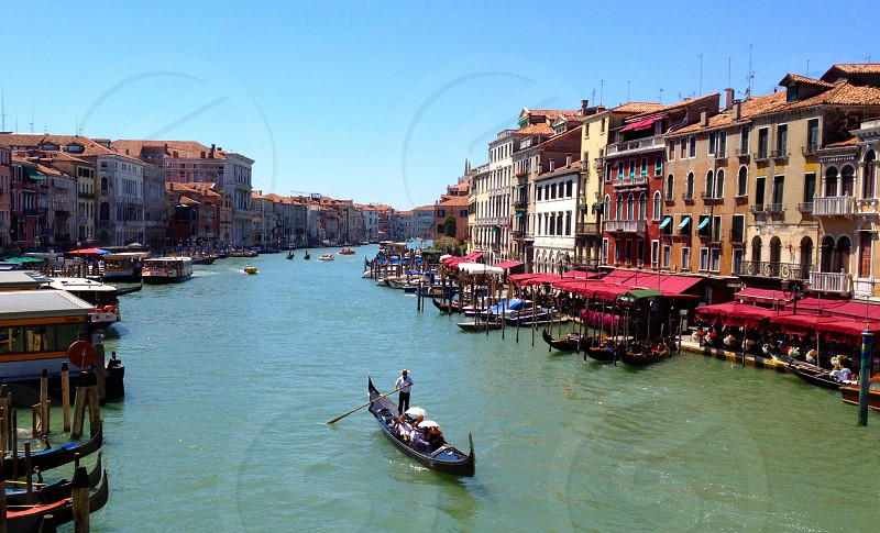 Grand Canal River in China photo