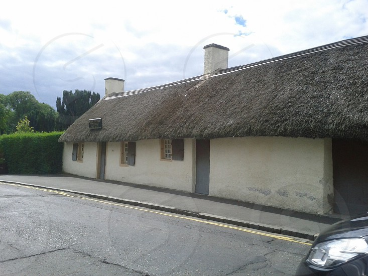 Robert burns' cottage photo