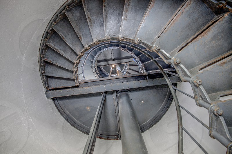 Lighthouse stairs photo