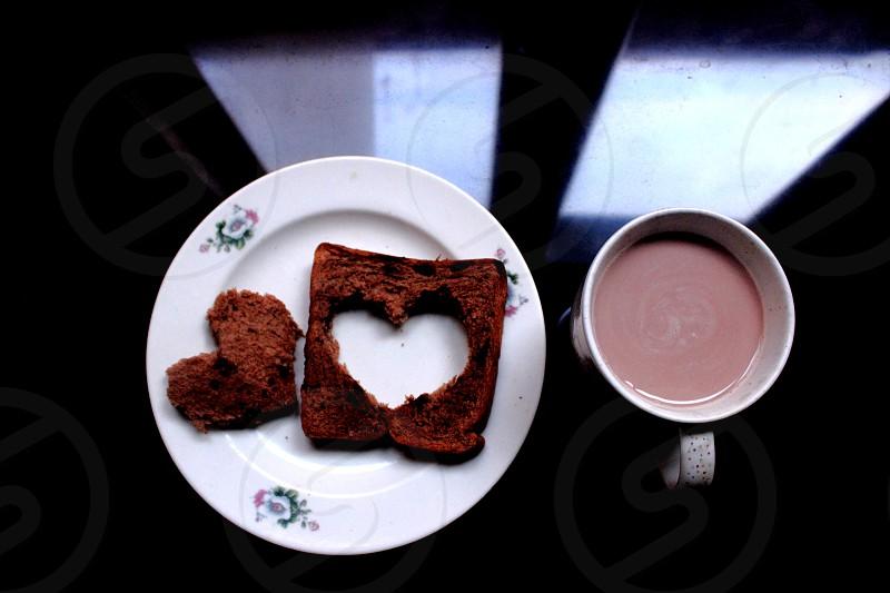 love chocolate feat chocolate milk in my breakfast photo