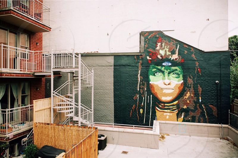 multicolored vandal photo