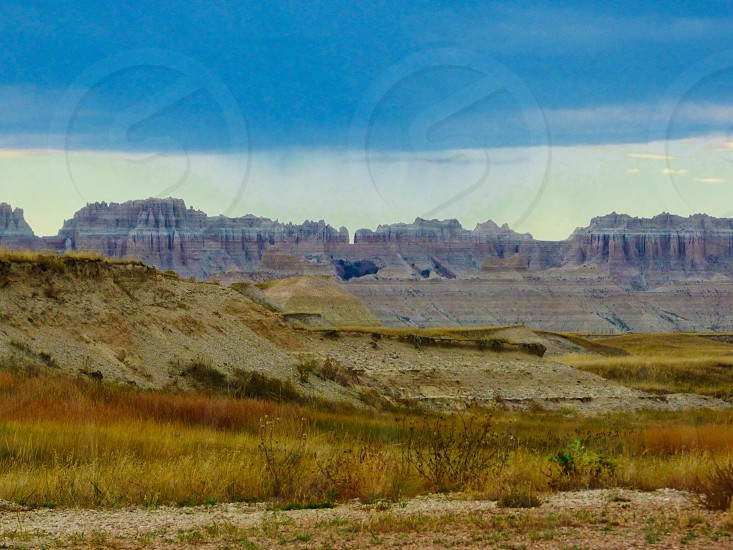 Badlands South Dakota serene  photo