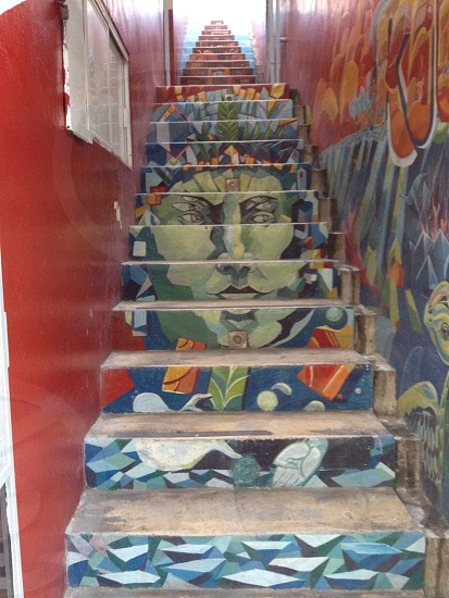 mexican stairs photo