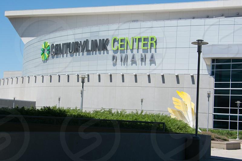 Century Link Center exterior in Omaha Nebraska photo