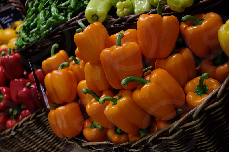 Colorful veggies photo