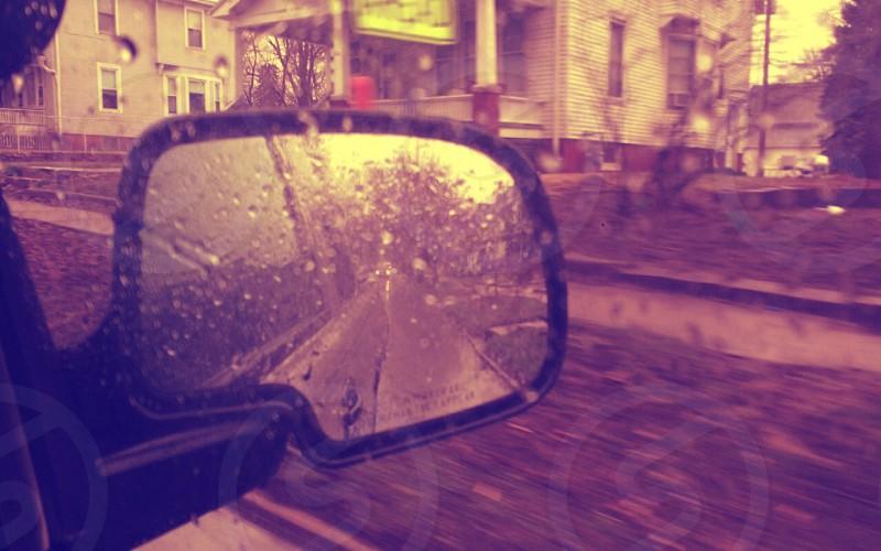 Rainmirrorreflection photo