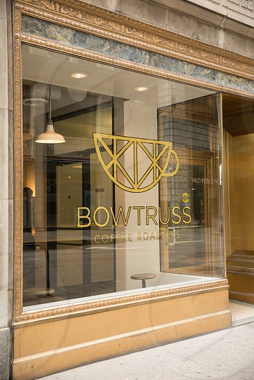 bow truss coffee roasters chicago exterior photo