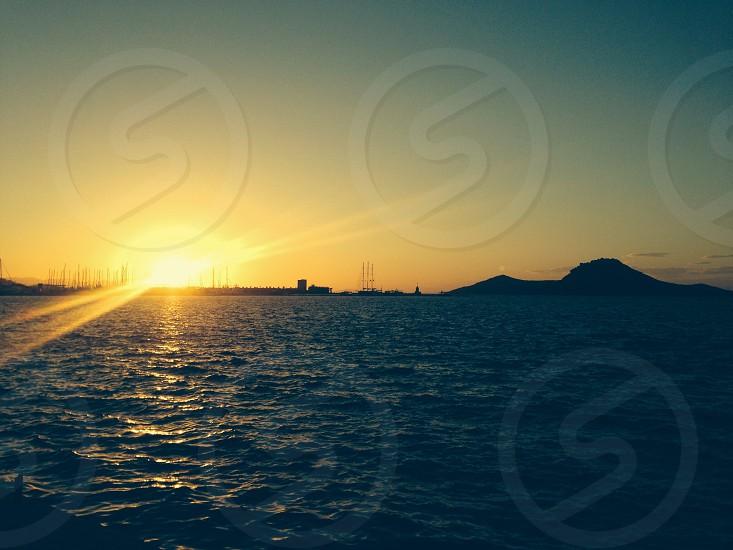 Sunset in Turkey photo