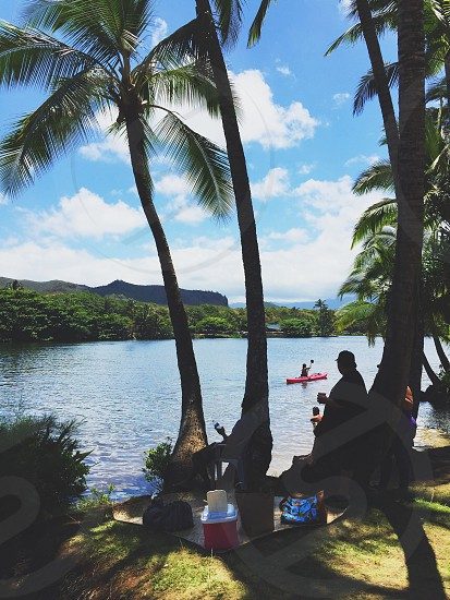 Paradise vacation Hawaii island tropics tropical water sports summer escape adventure photo