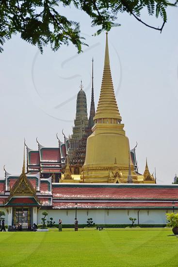 Wat Phra Kaew - Bangkok Thailand photo