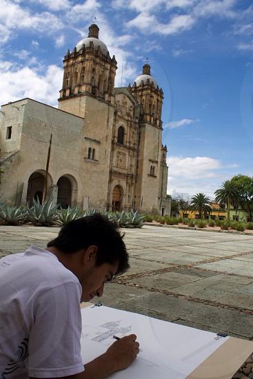 Too pretty for a picture art architecture church Mexico travel adventure photo