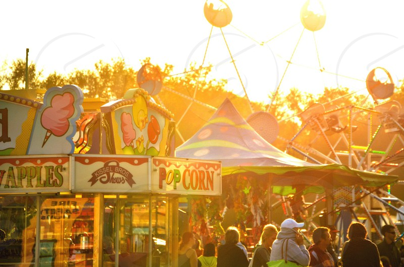Popcorn Stand and Carnival Games photo