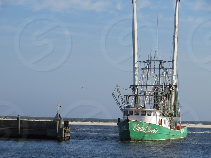 Shrimp Boat Biloxi Mississippi photo