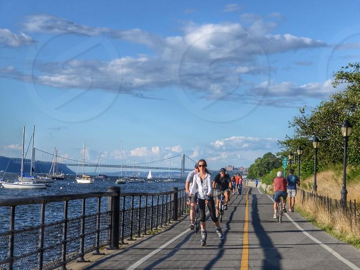 Hudson River Park. NYC photo