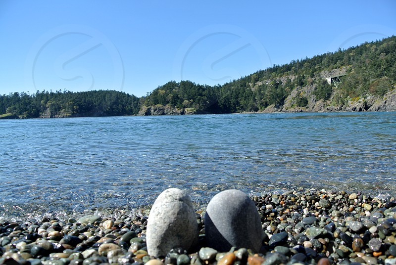 Deception Pass State Park Oak Harbor Washington photo