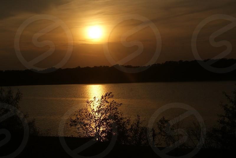 Sunset in Oklahoma photo