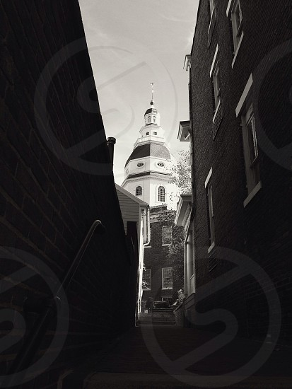 Annapolis MD state house photo