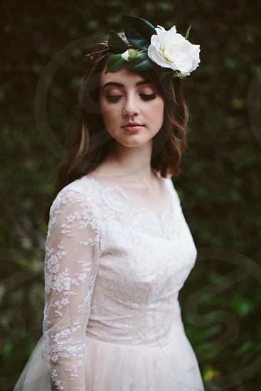 Girl fashion bohemian  photo