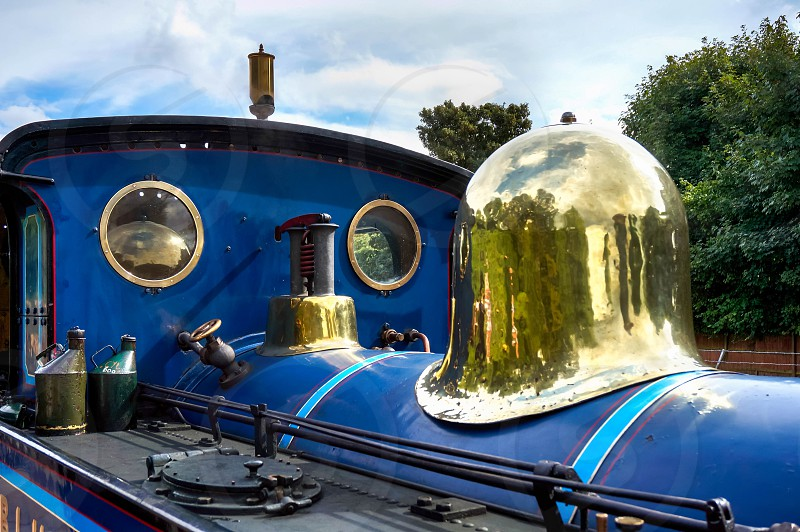 Bluebell Steam Engine in East Grinstead photo