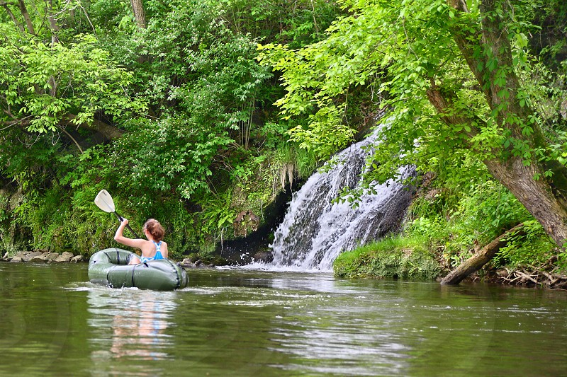 Rafting along Lower Antietam Creek offers a chance to view scenes that most visitors to Antietam National Battlefield miss. photo