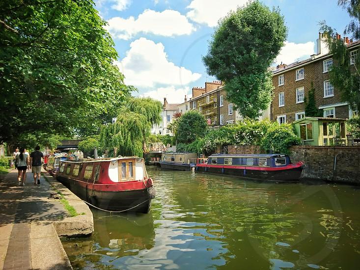 London. Camden Canal photo
