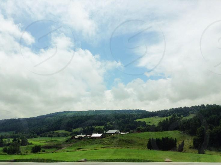 Farm countryside photo