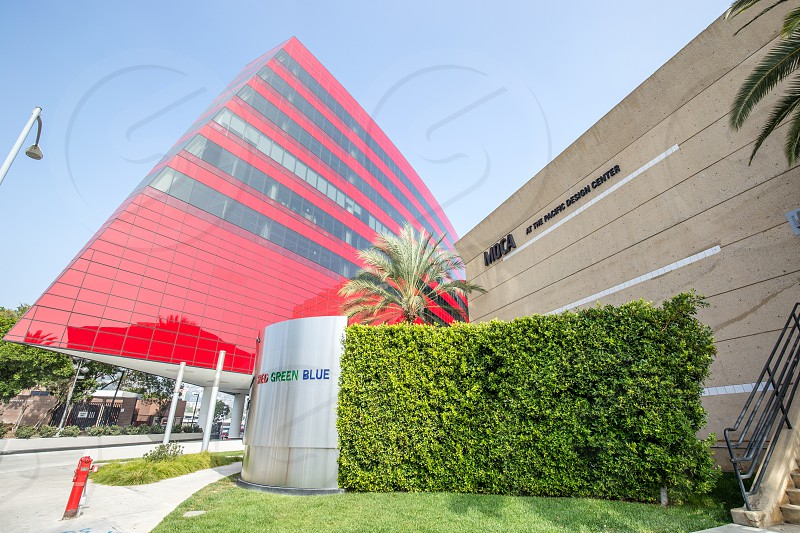 MOCA Pacific Design Center in West Hollywood CA photo