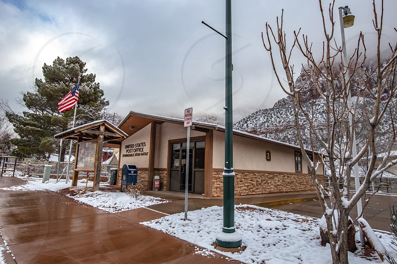 Post Office in Springdale Utah  photo