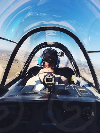 plane inner view photo