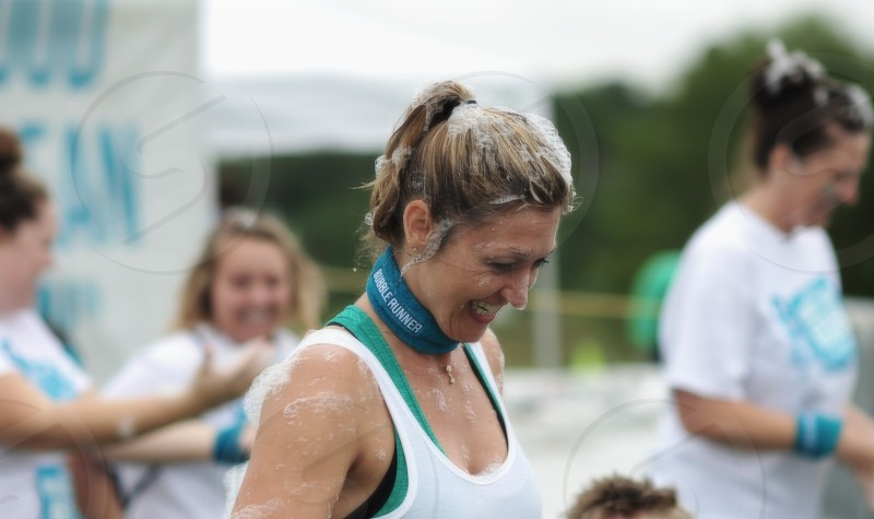 woman in white sports bra macro photography photo