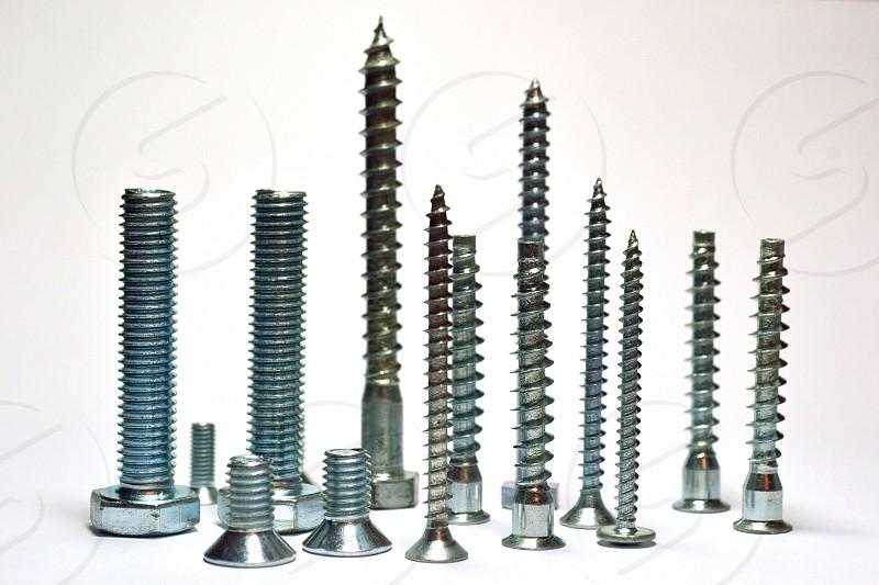 Set of screws photo