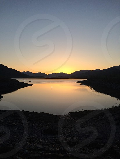 Loch leven from isles of glencoe photo